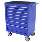 George Tools carrello porta attrezzi 7 cassetti blu