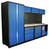 Kraftmeister Arredamento per officina Halifax Nextgen Blu