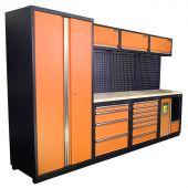 Kraftmeister Arredamento per officina Halifax Nextgen Arancione