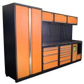 Kraftmeister Arredamento per officina Halifax Acciaio Inox Nextgen Arancione