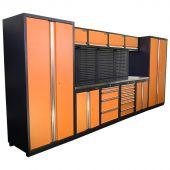 Kraftmeister Arredamento per officina Winnipeg Acciaio Inox Nextgen Arancione