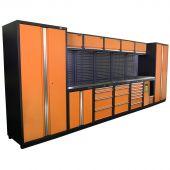 Kraftmeister Arredamento per officina Acciaio Inox Montreal Nextgen Arancione