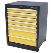Kraftmeister armadio 7 cassetti giallo - Nextgen