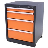 Kraftmeister armadio 4 cassetti Premium - arancione