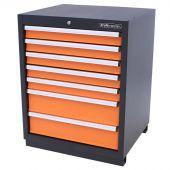Kraftmeister armadio 7 cassetti arancione - Nextgen