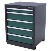 Kraftmeister armadio 5 cassetti Premium - verde