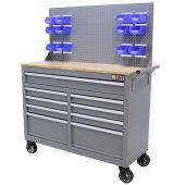 George Tools Banco da Lavoro Mobile 46 pollici grigio