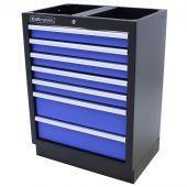 Kraftmeister cassettiera per utensili con 7 cassetti Standard blu