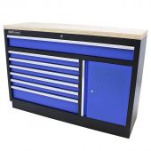 Kraftmeister cassettiera per utensili XL in Multiplex Standard blu