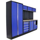 Kraftmeister arredamento per officina Washington Multiplex blu