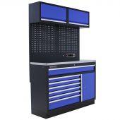 Kraftmeister arredamento per officina Minnesota Acciaio Inox blu