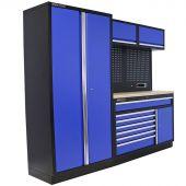 Kraftmeister arredamento per officina Iowa Acciaio Inox blu