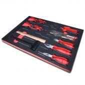 Kraftmeister sagoma utensili 4. Set pinze e martelli 11 pezzi