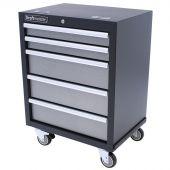 Kraftmeister carrello porta attrezzi con 5 cassetti Standard grigio