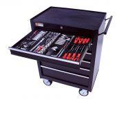 George Tools carrello portautensili con utensili - 6 cassetti - 209 pezzi