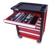 George Tools carrello portautensili con utensili - Redline -206 pezzi