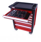 George Tools carrello portautensili con utensili - Redline - 80 pezzi