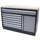 Kraftmeister cassettiera per utensili XL in Multiplex Standard grigio