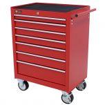 George Tools carrello porta attrezzi 7 cassetti rosso